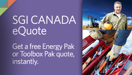 SGI CANADA eQuote. Get a free Energy Pak or Toolbox Pak quote, instantly.